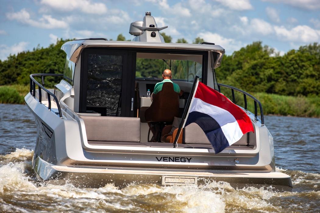 Windfjord Holland en de watersport Detail Boot Holland